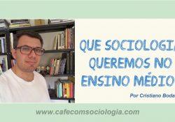 Especificidades da Sociologia no Ensino Médio*