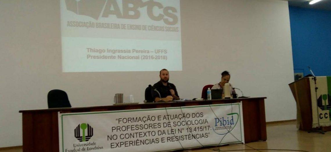 Evento no Paraná fortalece o ensino de Sociologia na escola