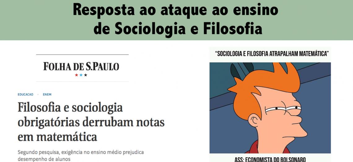 O delírio do ataque ao ensino de Sociologia e Filosofia