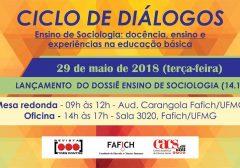Lançamento do Dossiê Ensino de Sociologia: docência, ensino e experiências na educação básica (14.1)