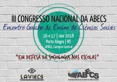 Divulgada a programa não dos Grupos de Discussões (GDs) do III Congresso Nacional da ABECS