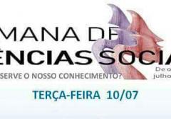 ABECS marcou presença na Semana de Ciências Sociais na Universidade Federal da Paraíba