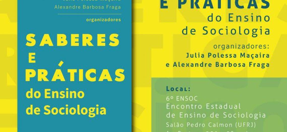 Lançamento de livro: Saberes e Práticas do Ensino de Sociologia