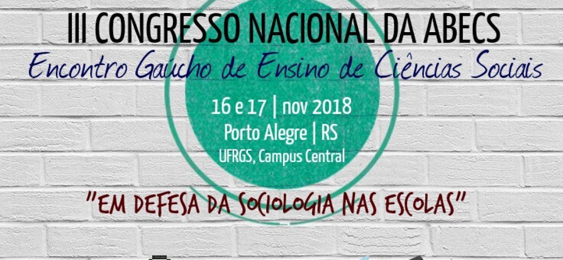 O Congresso da ABECS e o fortalecimento da Sociologia na educação básica