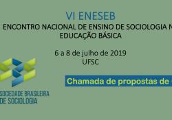 Chamada de propostas de GTs –  IV ENESEB