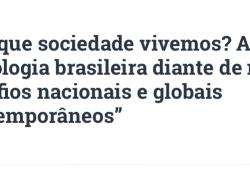 Encontro Regional Pré-SBS Sudeste de Minas Gerais, 25 e 26 de abril 2019 (UFJF)