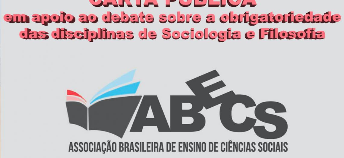 Carta Pública ao Senador Romário em apoio ao projeto de obrigatoriedade da Sociologia e da Filosofia