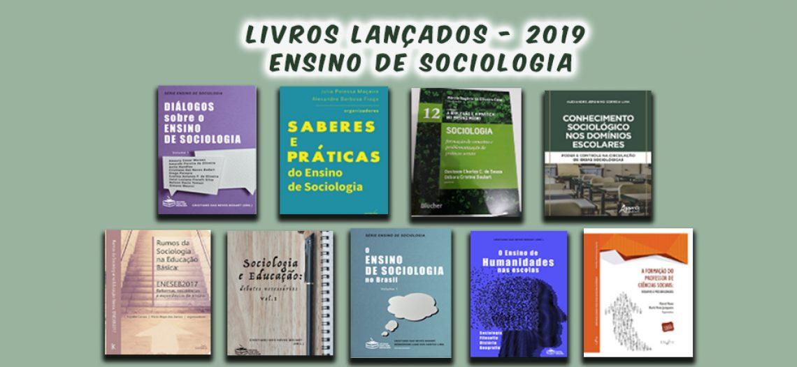 Lançamentos de livros sobre o Ensino de Sociologia