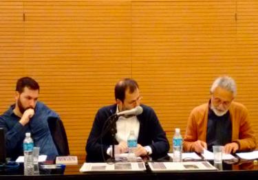 """UR-SP/ABECS no Seminário """"Democracia e Educação"""" organizado pelo Comitê de Luta pela Educação Sem Censura"""