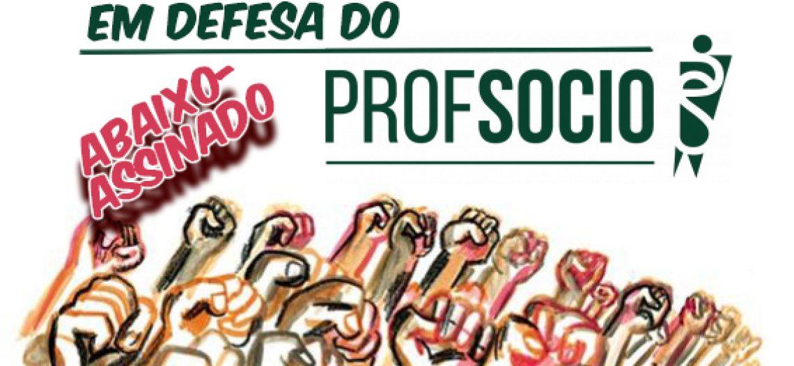 Abaixo-assinado pela manutenção do mestrado em sociologia (PROFSOCIO)