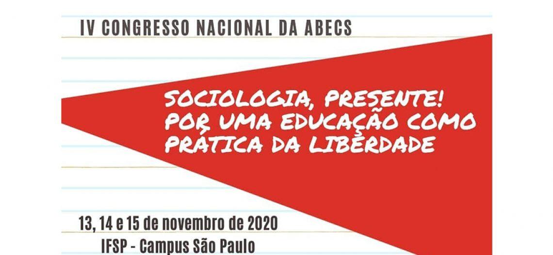 Chamada para proposições de Oficinas pedagógicas no Congresso Nacional da ABECS