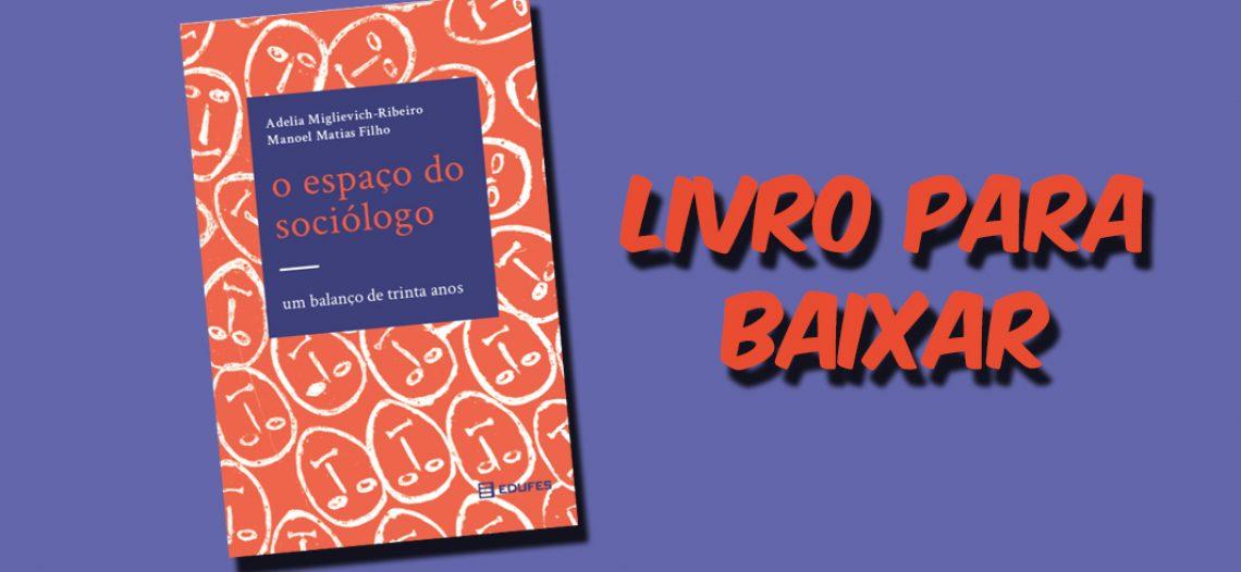 [Livro] O espaço do sociólogo