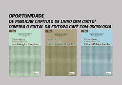 Oportunidade para publicar sem custos em livro digital – Editora Café com Sociologia