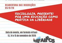 IV Congresso Nacional da ABECS/2020