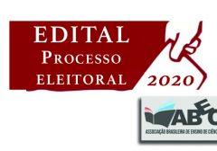 Apresentação de chapa(s) para eleição da diretoria da ABECS (nov.2020-nov.2022)