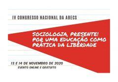 Relação de trabalhos aceitos para os grupos de discussão do  IV Congresso Nacional da ABECS
