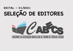 [Resultado] Seleção de Editores de Seção para a revista Cabecs
