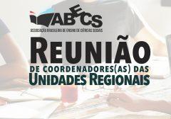 Reunião de coordenadores(as) das URs-ABECS
