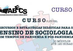 Curso de extensão da ABECS teve início no dia 07 de agosto