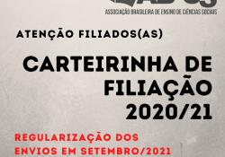 Carteirinha de Filiação 2020/21